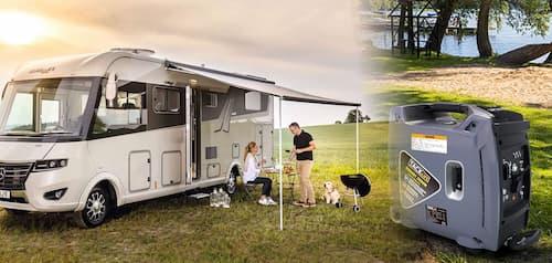 Meilleurs groupes électrogènes silencieux pour camping-car
